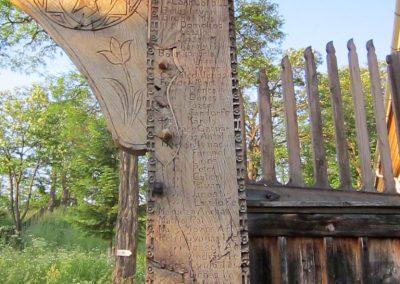 Csíkrákos I. világháborús emlék Székelykapu, a templom bejárata 2014.06.06. küldő-kalyhas (13)
