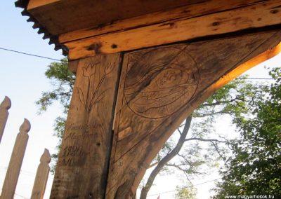 Csíkrákos I. világháborús emlék Székelykapu, a templom bejárata 2014.06.06. küldő-kalyhas (18)