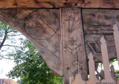 Csíkrákos I. világháborús emlék Székelykapu, a templom bejárata 2014.06.06. küldő-kalyhas (19)