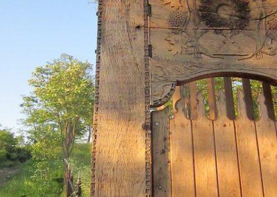 Csíkrákos I. világháborús emlék Székelykapu, a templom bejárata 2014.06.06. küldő-kalyhas (7)