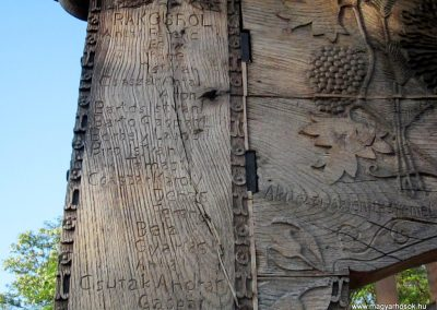 Csíkrákos I. világháborús emlék Székelykapu, a templom bejárata 2014.06.06. küldő-kalyhas (8)
