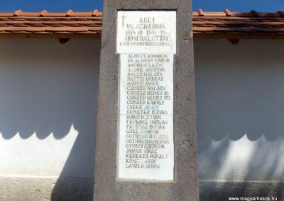 Csíkszentkirály világháborús emlékmű 2016.07.14. küldő-kalyhas (2)