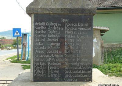 Csókfalva világháborús emlékmű 2009.08.23.küldő-Ágca (2)