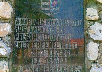 Csór II.vh emlékmű 2011.05.24. küldő-Csiszár Lehel (2)
