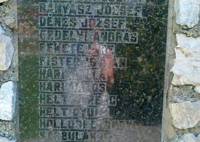 Csór II.vh emlékmű 2011.05.24. küldő-Csiszár Lehel (3)