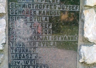 Csór II.vh emlékmű 2011.05.24. küldő-Csiszár Lehel (8)