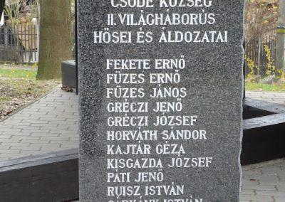 Csöde II.vh emlékmű 2009.11.26. küldő-Sümec (2)