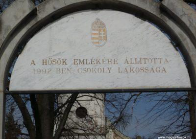 Csököly világháborús emlékmű 2009.03.23.küldő-Sümec (6)