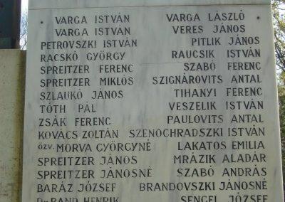 Csömör Hősi emlékmű 2008.04.23. küldő Huszár Peti (10)