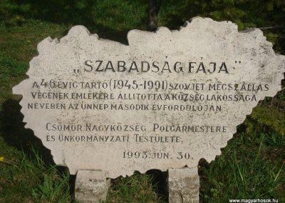 Csömör Hősi emlékmű 2008.04.23. küldő Huszár Peti (4)