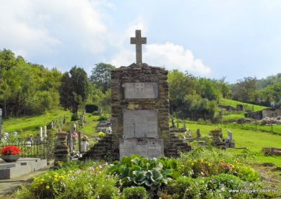 Csúz, katolikus temető