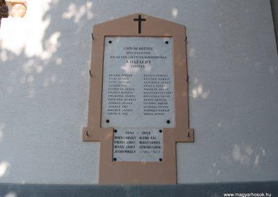 Csővár világháborús emléktáblák 2009.09.28. küldő-kalyhas (1)