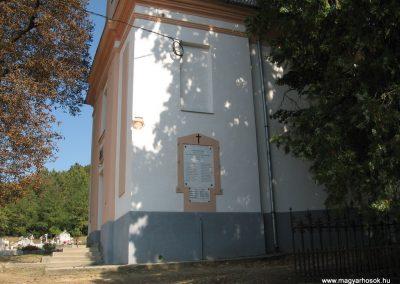 Csővár világháborús emléktáblák 2009.09.28. küldő-kalyhas