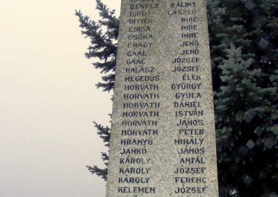 Csallóközaranyos II. vh.
