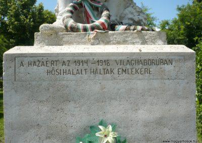 Csanádalberti I. világháborús emlékmű 2013.06.15. küldő-Sümec (3)