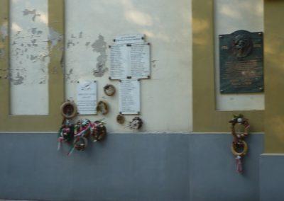Csanádapáca Hősök emléktáblái a templom falán 2009.10.03. küldő-Sümec