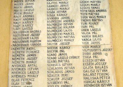 Csanádpalota I. világháborús emléktáblák 2012.07.14. küldő-Sümec (10)