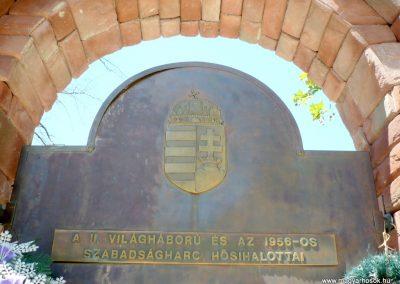 Csanádpalota II. világháborús emlékmű 2012.07.14. küldő-Sümec (3)