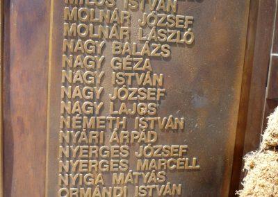 Csanádpalota II. világháborús emlékmű 2012.07.14. küldő-Sümec (8)