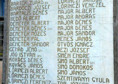 Csekefalva I. világháborús emlékmű 2017.08.22. küldő-Szklenár László (3)