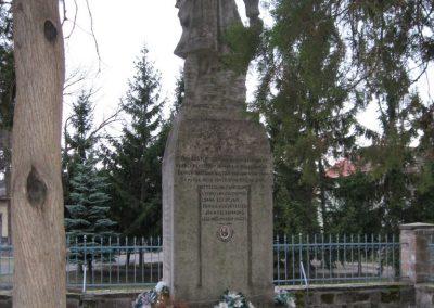 Cserépfalu I vh.emlékmű 2007.03.09.Küldő-Kályhás (2)
