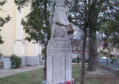 Cserépfalu I vh.emlékmű 2007.03.09.Küldő-Kályhás