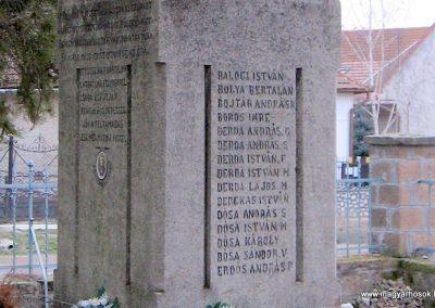Cserépfalu I. vh emlékmű 2007.03.09. küldő-kalyhas (2)