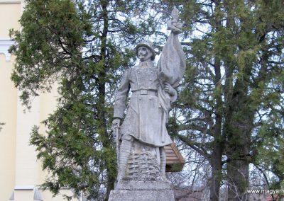 Cserépfalu I. vh emlékmű 2007.03.09. küldő-kalyhas