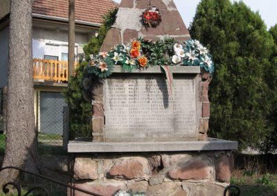 Cserépváralja vh.emlékmű 2007.03.26.Küldő-Kályhás