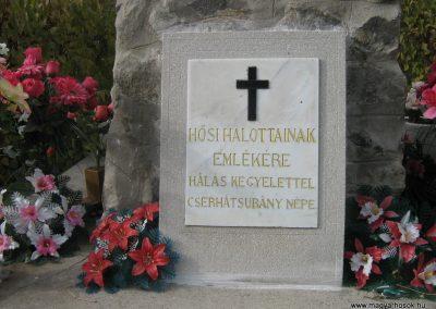 Cserhátsurány Hősi emlékmű 2007.10.22.küldő-Mónika39 (1)