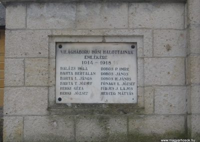 Csernely világháborús emlékmű 2008.02.18.küldő-Kályhás (2)