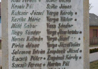 Csesztreg I.vh emlékmű 2009.02.12.küldő-Sümec (5)