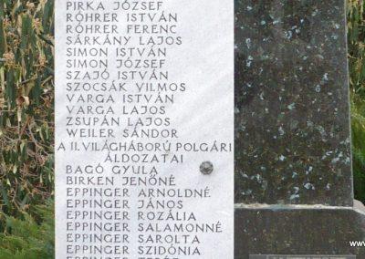 Csesztreg II.vh emlékmű 2009.02.12. küldő-Sümec (3)