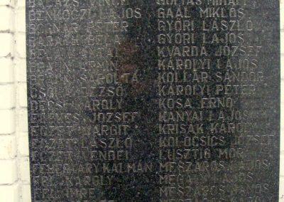 Csicsó I. és II. vh.református temető