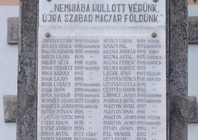 Csikkozmás világháborús emlékmű 2007.10.29.küldő-Horváth Zsolt (1)