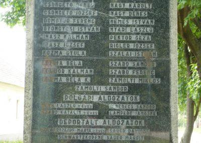 Csikvánd világháborús emlékmű 2009.05.15.küldő-Ágca (7)