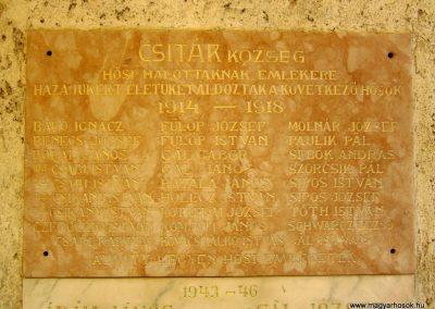 Csitár világháborús emléktáblák 2012.03.08. küldő-kalyhas (2)