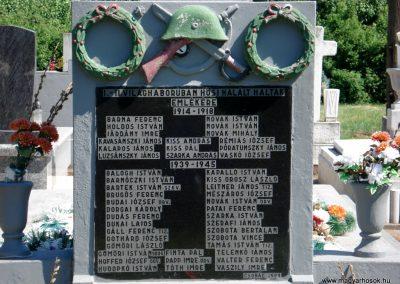 Csobád világháborús emlékmű 2011.05.17. küldő-megtorló (1)