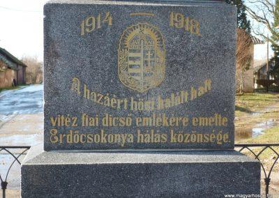 Csokonyavisonta--Erdőcsokonya-- világháborús emlékmű 2009.01.08.küldő-Sümec (2)