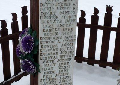 Csokonyavisonta _ Somogyvisonta világháborús kopjafák 2010.02.16. küldő-Sümec (3)