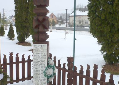 Csokonyavisonta _ Somogyvisonta világháborús kopjafák 2010.02.16. küldő-Sümec (5)