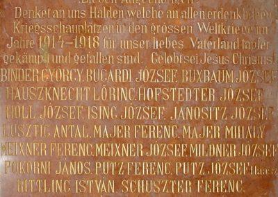 Csolnok I.vh emléktábla 2010.09.11. küldő-Pfaff László, Rétság (1)
