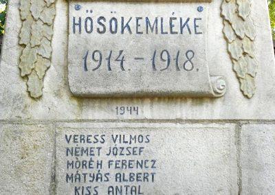 Csomortán világháborús emlékmű 2019.06.11. küldő-Fehér Mónika (2)