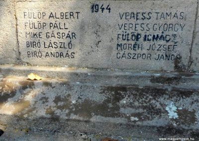 Csomortán világháborús emlékmű 2019.06.11. küldő-Fehér Mónika (4)