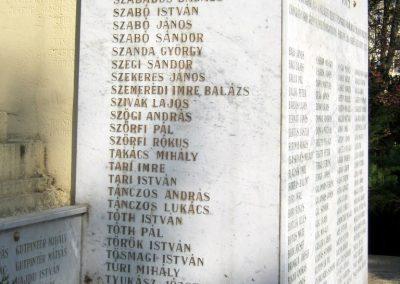 Csongrád I. világháborús emlékmű 2015.04.12. küldő-Emese (10)