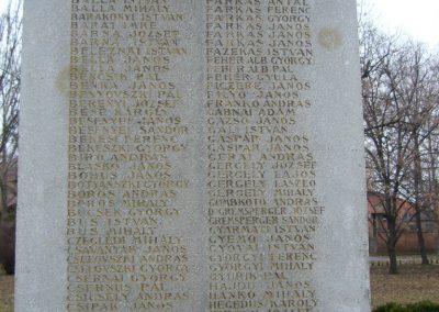 Csorvás I. világháborús emlékmű 2007.01.01. küldő-Zsóki