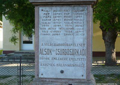 Csurgó-Alsok világháborús emlékmű 2009.05.12.küldő-Sümec (4)