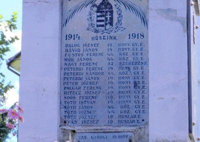 Csurgónagymarton világháborús emlékmű 2014.10.18. küldő-Huber Csabáné (4)