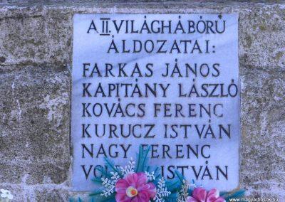 Csurgónagymarton világháborús emlékmű 2014.10.18. küldő-Huber Csabáné (5)