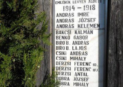 Dálnok világháborús emlékmű 2019.06.11. küldő-Fehér Mónika (2)